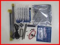 Free Shipping 3D8 Light Cube DIY Kit 573 2803 5a60s2 8 8 8 Light Cube Kits