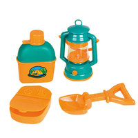 Children Pretend Toy Garden Tool Plastic Model 4pcs/set Toys Outdoor Camping ConstructionTools Kids Boys Girls Gift pt006