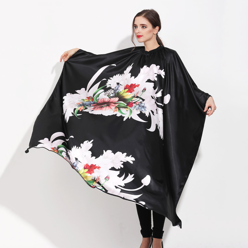 Blossom Image Design Hair Cape Salon Barbers Hairdressing Gown Striated Haircut Perm Dye Shampoo Cloth Apron Hairdresser UN817