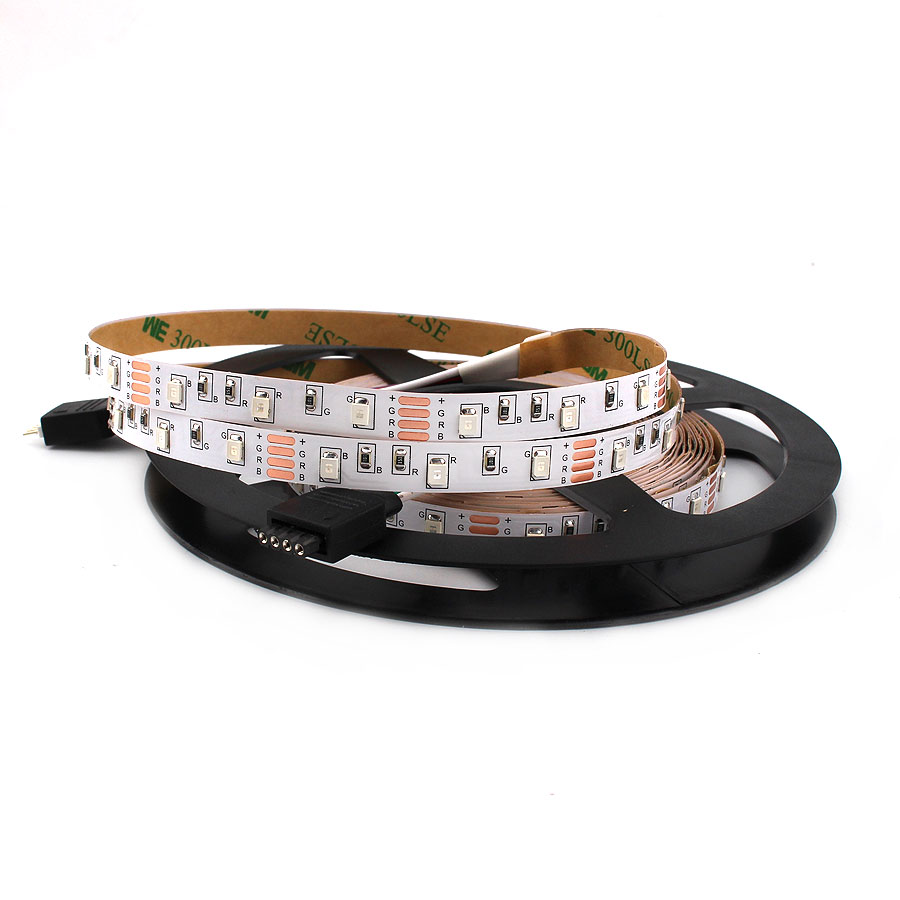 12 V Led Light Strip 1M 5M <font><b>2835</b></font> 60Leds/m 12V RGB Warm White Flexible Led Strip Lamp Tape Ribbon Lights Decoration NOT Waterproof image