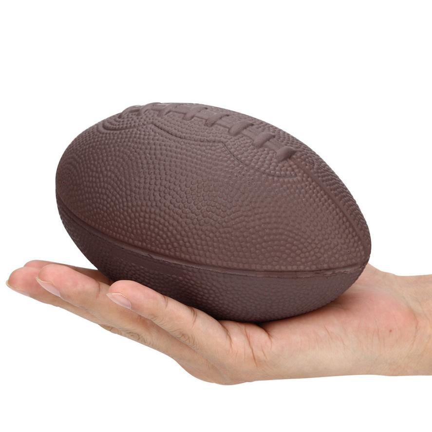 1 pcs 16 cm Exquisite Fun Football Scented Squishy Charm Slow Rising Simulation Kid Toy Relieve Stress Toy Gifts good play kids