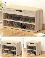 Multifunctional storage Shoes Cabinet shoe rack Stool style Shoe Cabinets