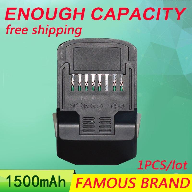 Golooloo 1500 mAh Batterie pour Outil Électrique HITACHI BSL1830 BSL1840 UB18DAL 330067 DS18DSL DS18DSAL RB18DSL DV18DSL CR18DSL DH18DSL