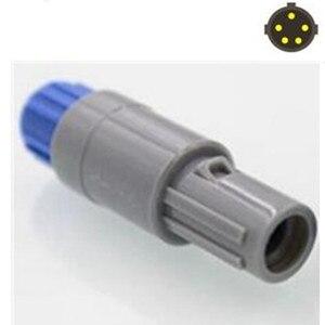 10 шт./лот Push-Pull самоблокирующийся для LEMO 5 PIN круговой пластиковый штекер с одним слотом разъем/вилка