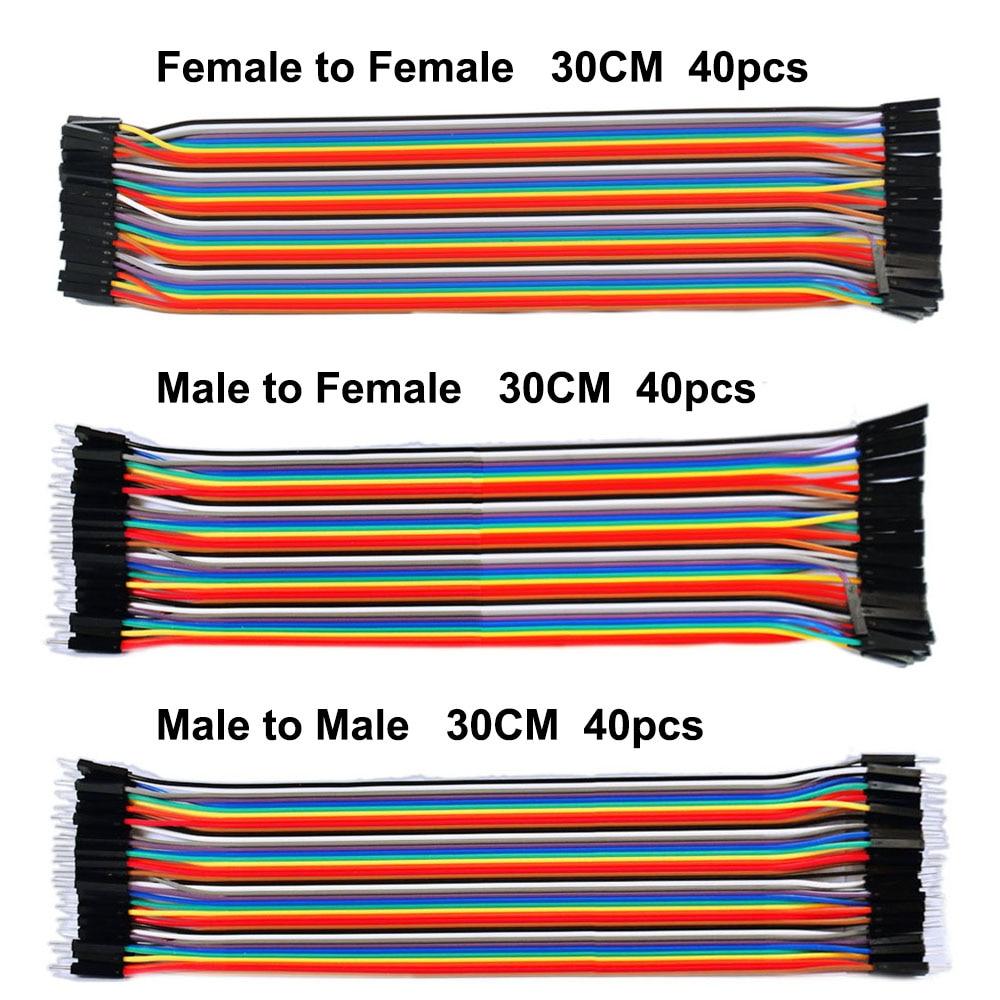 1pcs Ds18b20 Stainless Steel Package Waterproof Temperature Cnc 40pcs Jumper Cable Kabel 30cm Male To Female Dupont For Breadboard Gratis Pengiriman Garis 120 Pcs 30 Cm Pria Perempuan Dan Wanita