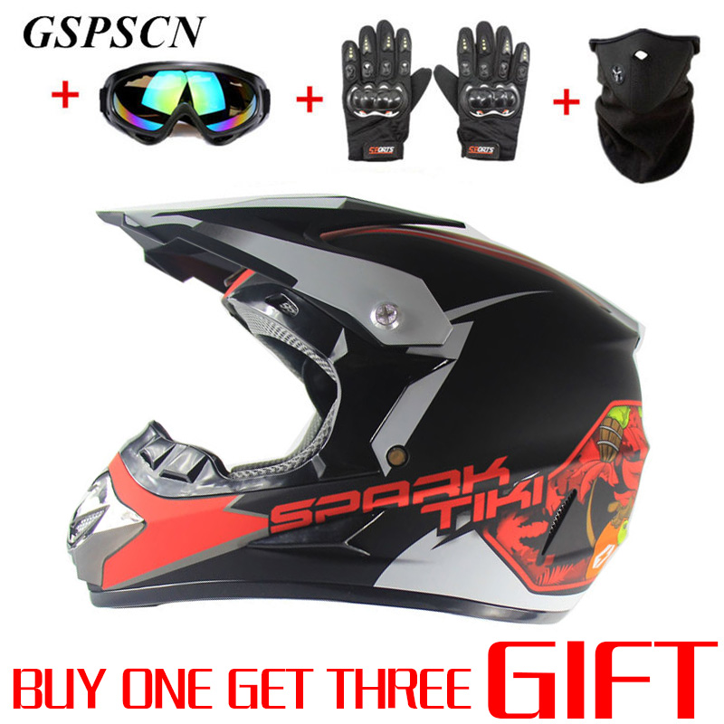 GSPSCN 2018 Professional Racing мотокросс шлем Hors Route Casque Moto Off-road мультфильм дети ATV мотоцикл MTB шлем