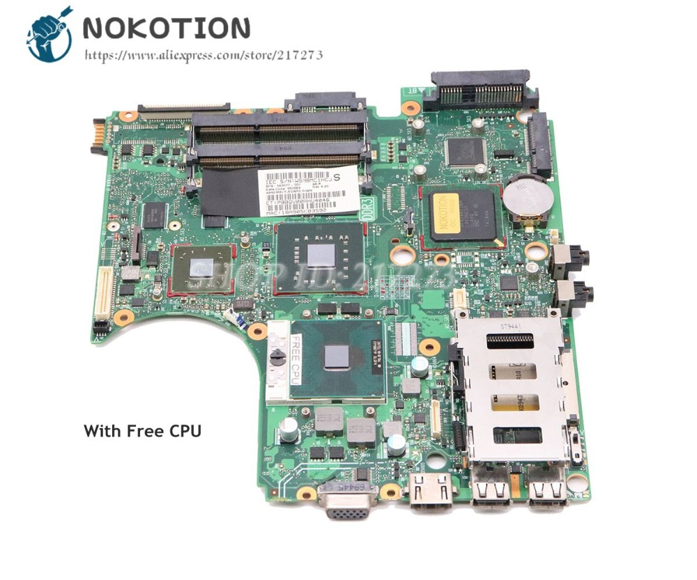 NOKOTION 583077-001 For HP Probook 4510S 4710S 4411S Notebook Laptop Motherboard PM45 DDR3 ATI graphics Free CPUNOKOTION 583077-001 For HP Probook 4510S 4710S 4411S Notebook Laptop Motherboard PM45 DDR3 ATI graphics Free CPU