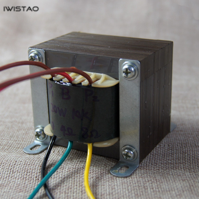 IWISTAO 20W Tube Amplifier Output Transformer Pull-Push Z11 Silicon Steel EI For Tube Amp Power Audio Horizontal installation