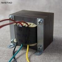 IWISTAO 20W Tube Amplifier Output Transformer Pull Push Z11 Silicon Steel EI For Tube Amp Power Audio Horizontal installation