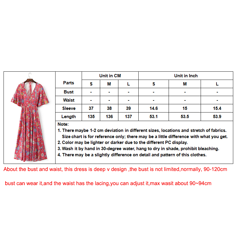 2017 Vestido Μακρύ φόρεμα με λουλούδι Ροζέ - Γυναικείος ρουχισμός - Φωτογραφία 6