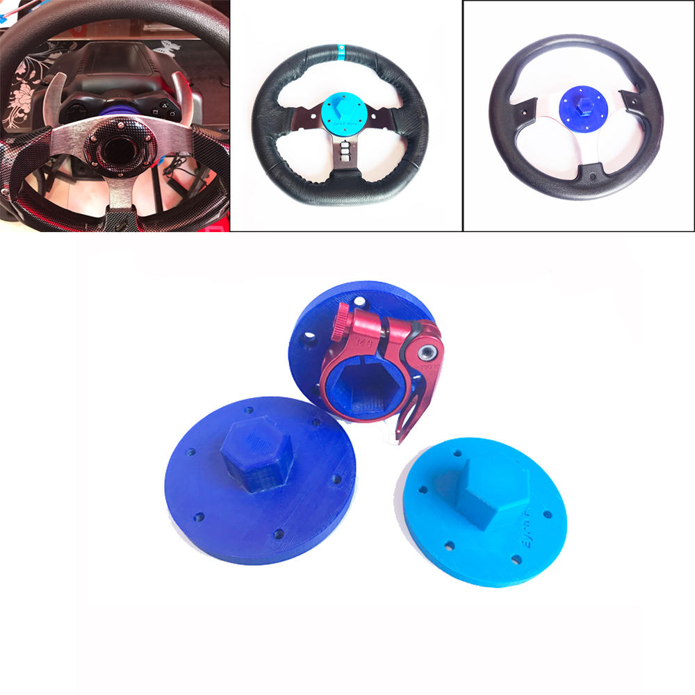 Modification Racing Car Game For Logitech G25 G27 G29 G920 Steering Wheel Quick Release Adapter Screw Table Game