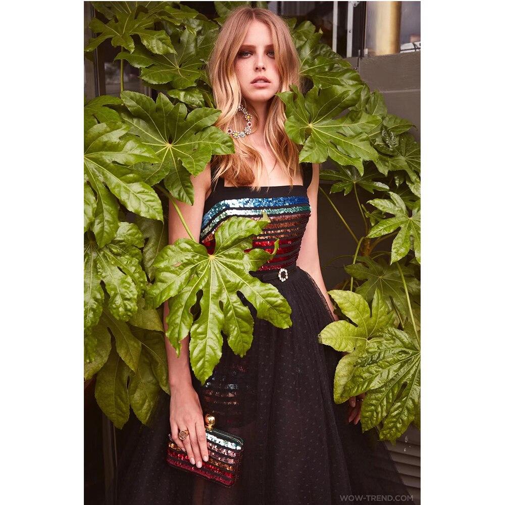 By858 Sans Tendance Deive Robe Parti Strap De 2019 Teger Cheville Femmes Longueur Club Spaghetti Printemps Sequin Manches Robes T0FwT