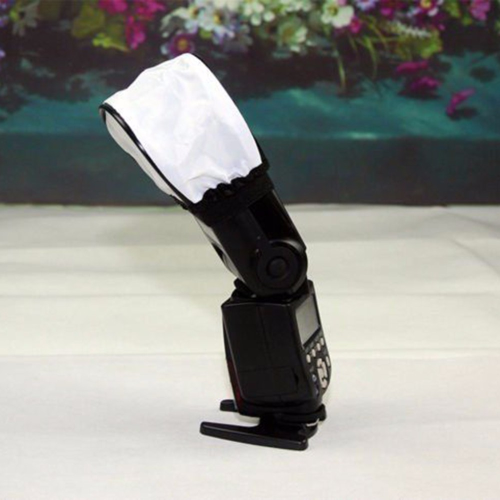 EXMAX 3.5x2.4inches Universal Soft Mini Flash Bounce Diffuser Cap ...