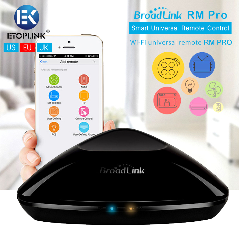 Broadlink RM Pro Intelligent Wifi Controlled IR RF Remote Center for iPhone Andr