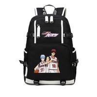 Kuroko No Basket ball Backpack Japan Anime Tetsuya Akashi Seijuro Student Kuroko's Basket ball Schoolbags Shoulder Bag Rucksack