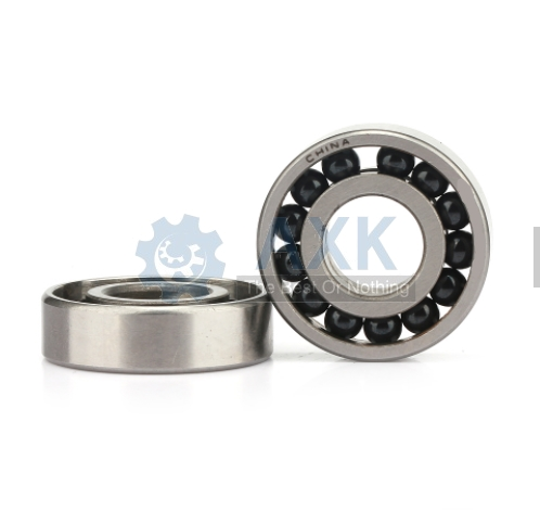 Free Shipping 608 688RS (1PCS) 8x16x6mm hybrid Ceramic bearings Ball Bearing Deep Groove 688