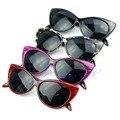 Estilo Retro Sexy Mujeres Punk Shades Gafas de Ojo de Gato gafas de Sol de Moda Al Aire Libre