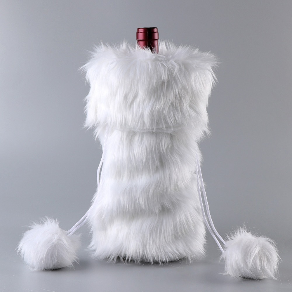 Detail Feedback Questions about OurWarm Christmas Wine Bottle Cover ... 382a93a5e5de2