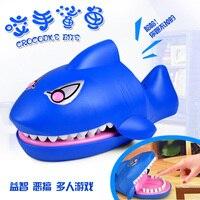 1818Pmo вещицы прихоти Забавный странные новые игрушки для взрослых творческие страшно акула укус Finger дети весело подарки 45 см и 37 см