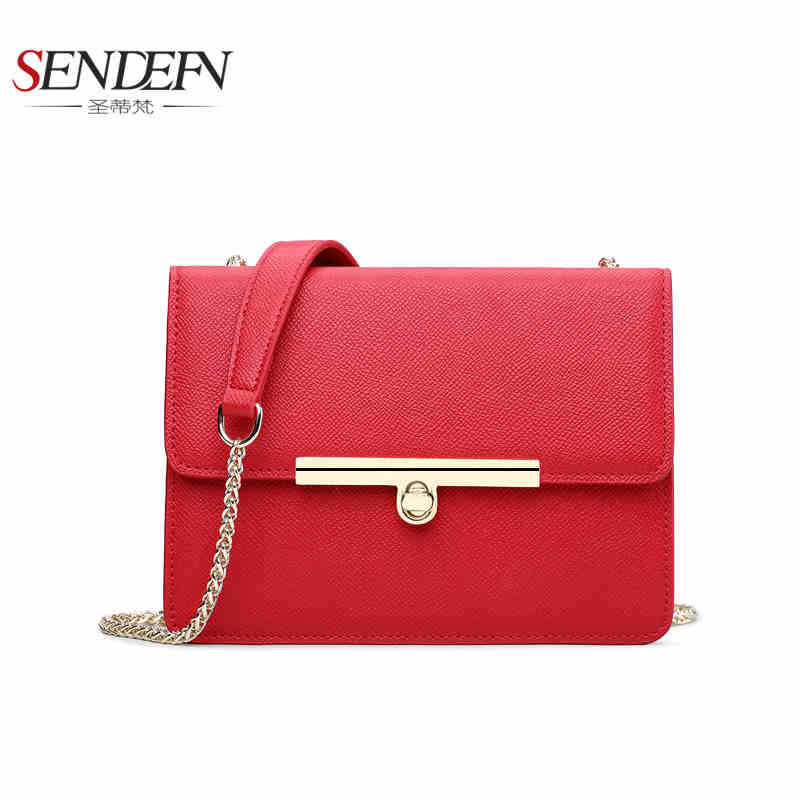 Sendefn Fashion Leather Women Messenger Bag Ladies Shoulder Bags Satchels Handbags Lady Crossbody Bags bromen crossbody bags for women leather handbags pvc printing satchels ladies shoulder messenger bag brand design dames tassen