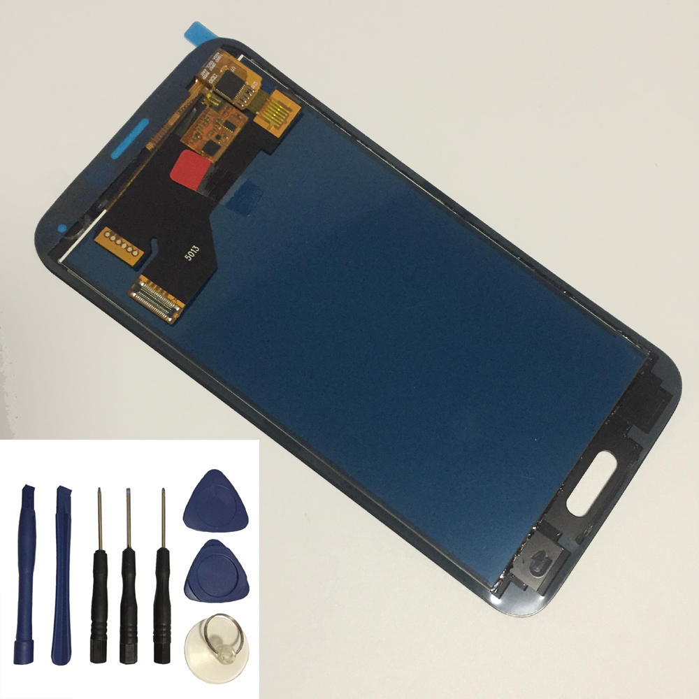For Samsung Galaxy S5 G900F G900 Touch Screen Panel Digitizer Sensor + LCD Display Monitor Panel Module Assembly + Free Tools(China)