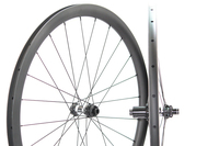 Grid Brake Surface 700C Carbon Bike Rims 45mm Bicycle Clincher Road Wheels 26mm Wide Tubeless Tubular Carbon Wheelset