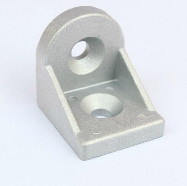 4040 Round Corner Angle Bracket Joint Aluminum Profile Extrusion