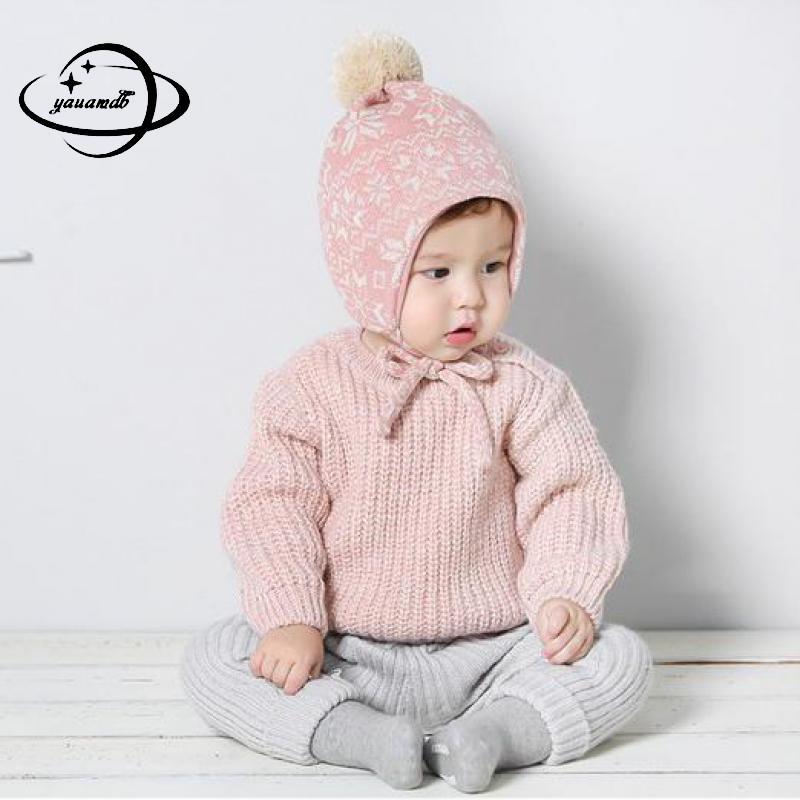 Suche Nach FlüGen Yauamdb Baby Pullover 2017 Herbst Frühling 6-24 Mt Mädchen Jungen Kinder Knitting Solid Farbe Pullover Oansatz Langarm Kleidung Y43