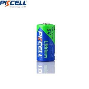 Image 3 - PKCELL 10X3V CR123A bateria 1500mAh CR123 123A CR17345 KL23a VL123A DL123A 5018LC EL123AP SF123 nie akumulator litowy wielokrotnego ładowania