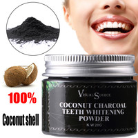 Fashion Herb Coconut Dentifrice 20g Coconut Charcoal Teeth Whitening Powder Toothpaste Whitening Teeth Remove Halitosis Plaque Health & Beauty