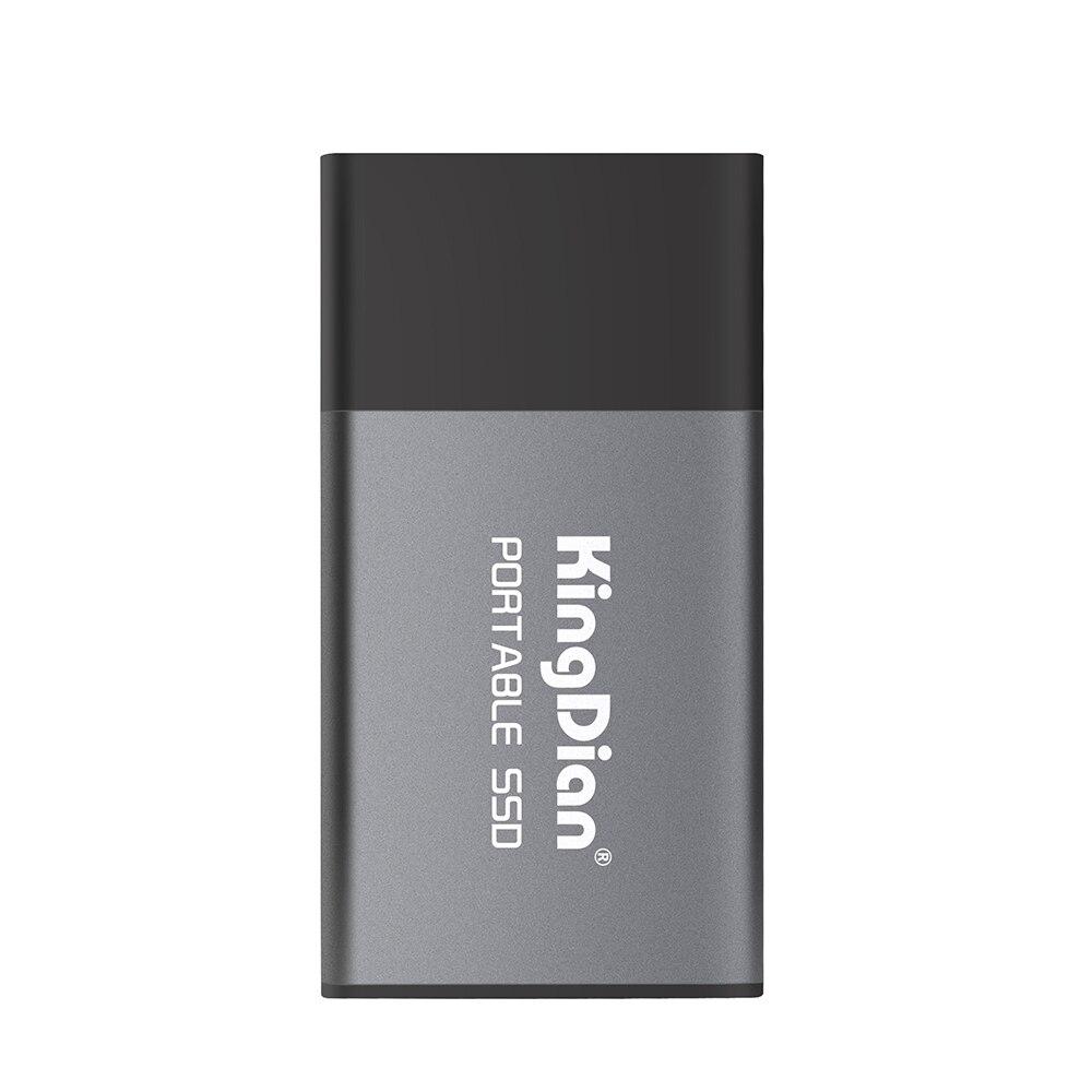KingDian P10 Portable SSD USB 3.0 à type-c adaptateur 250 GB/500 GB externe à semi-conducteurs pour ordinateur Portable téléphone de bureau