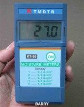 KT-50 влажности древесины метр цифровой измеритель влажности древесины дерева humity метр 2% ~ 90% Разрешение: 1%