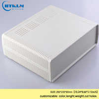 ABS plastic box for electronic projects junction box diy desktop distribution box plastic speaker enclosure 260*220*80mm 1piece
