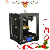 Anet A3 Full Assembled Desktop 3D Printer Big Print Size Precision Reprap Prusa i3 3D Printer for Christmas gift 8G SD Card
