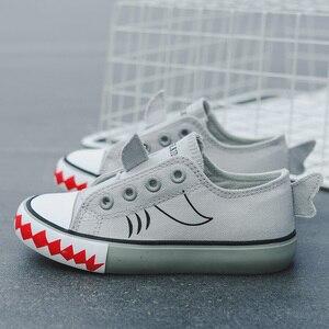 Image 5 - Unisex dziecięce brezentowe buty 2019 letnie dzieci nowe modne dziewczyny trampki chłopcy sportowe buty oddychające buty dla małego dziecka zwierzęta śliczne