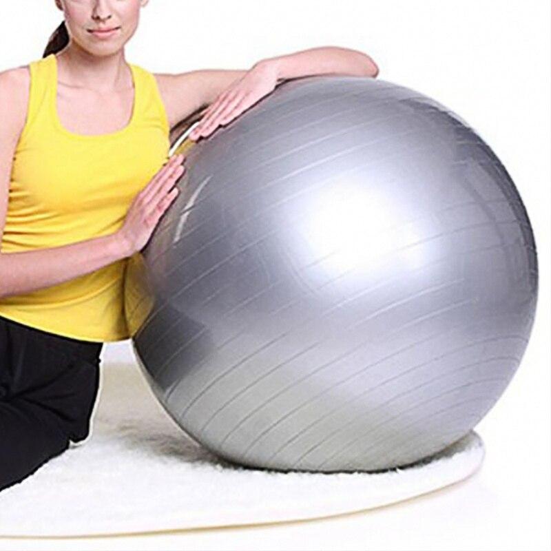 Sports Yoga balles Fitness Gym équilibre Fit balle exercice Pilates entraînement Massage balle 55 cm 65 cm 75 cm