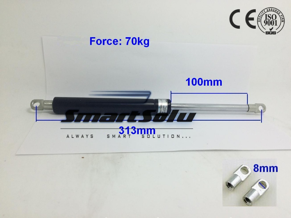 Free Shipping 154lbs/70kg  Force 313*100mm Lift Gas SpringFree Shipping 154lbs/70kg  Force 313*100mm Lift Gas Spring
