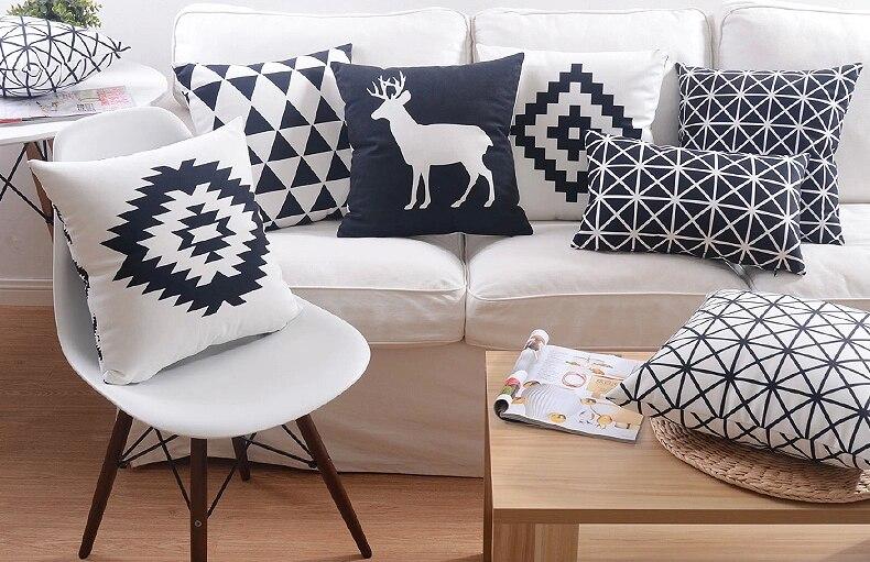 вечерние черно белые картинки с подушками привлекают независимые