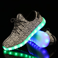 SALL HOT 2016 Led Light Up Unisex Zapatos Homens Schoenen Schuhe Luminosa Sapatos Adultos Casais Sapatos Casuais Luz Led para masculino