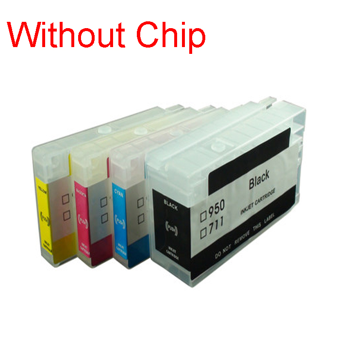 einkshop Empty Refillable Cartridge For <font><b>hp</b></font> <font><b>953</b></font> 954 955 952 XL Without Chip For <font><b>HP</b></font> Officejet Pro 8730 8740 8735 8715 8720 8725 image