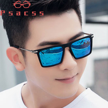 Psacss Square Sunglasses Men Classic Brand Designer High Quality Sun Glasses Male Driving Mirror UV400 Lunette De Soleil Homme