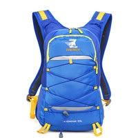 20L Multi color Waterproof Nylon Cycling Water Bag Backpack Women Men Sports Mountain Bike Backpacks Hiking Bicycle Bag XA654WD