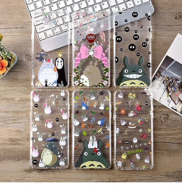 cheap for discount 6e7a4 e9adc US $2.99 |Anime Kawaii Totoro Adorable Shockproof Phone Case for Samsung  Galaxy Note 8 Soft TPU Clear Coque Back Cover for Samsung Note 5-in ...