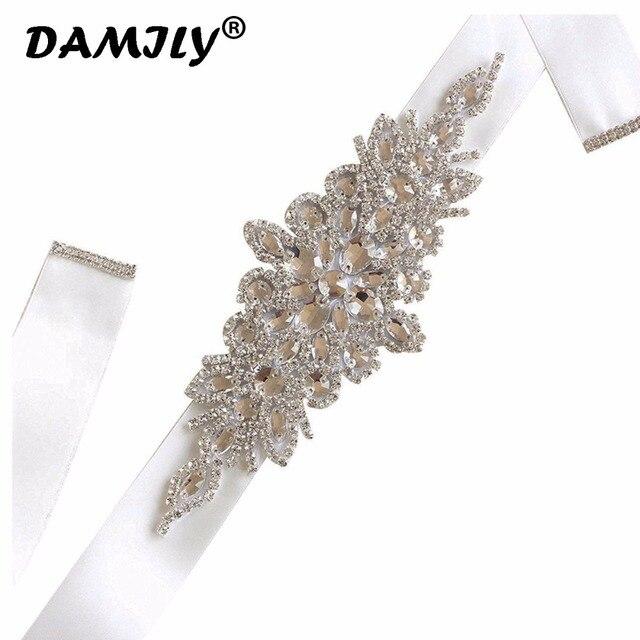 Cinturones de boda de lujo para mujer cinturón de diamantes de imitación de alta calidad faja nupcial fiesta de boda novia vestido de dama de honor cinturón cinta fajas