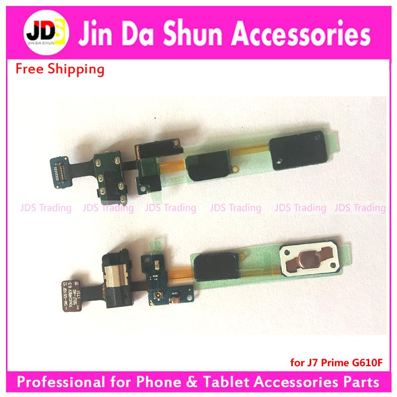 US $14 1 |For Samsung Galaxy J7 Prime G610F Home Button Key Return Light  Sensor Menu Keyborad Headphone Audio Jack Flex Cable Flat Ribbon-in Mobile