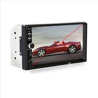 7018B 2DIN LCD Colorful Display Car Bluetooth Audio 7 HD Radio In Dash Touch Screen Stereo