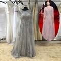 Real Real imagem da senhora Sexy famoso desgaste do partido de luxo requintado de cristal frisada vestido longo 2016 robe soiree longue ASAE08