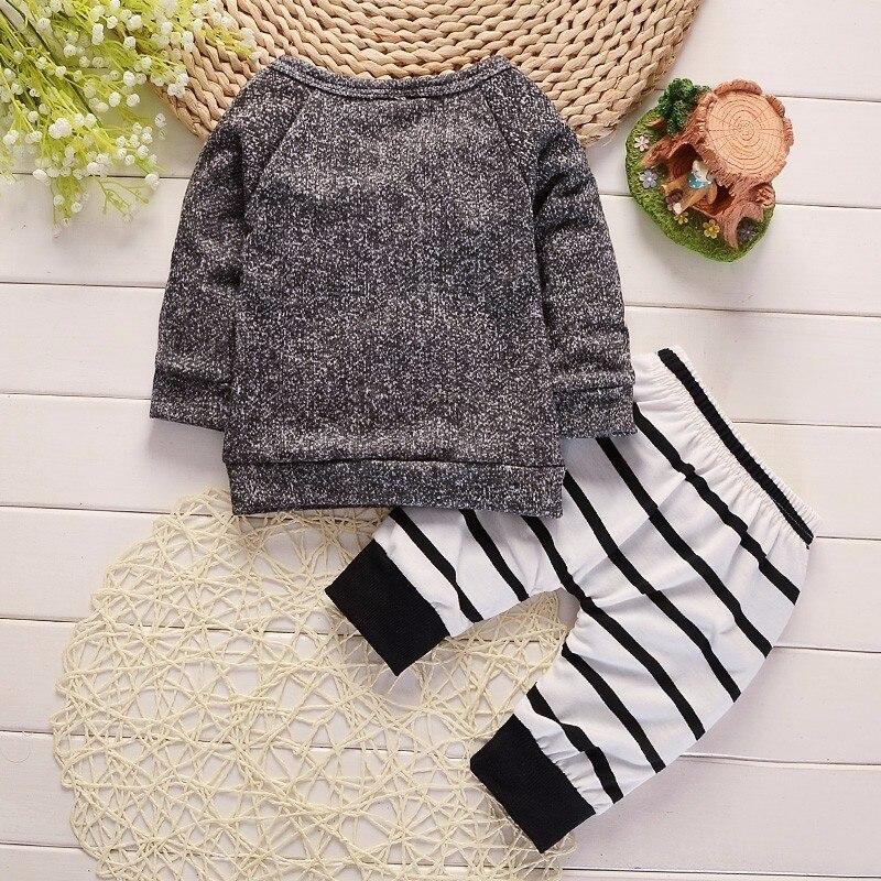 2018 Mode Babykleding Kinderen Pasgeboren Jongens Meisjes Lange - Babykleding - Foto 2