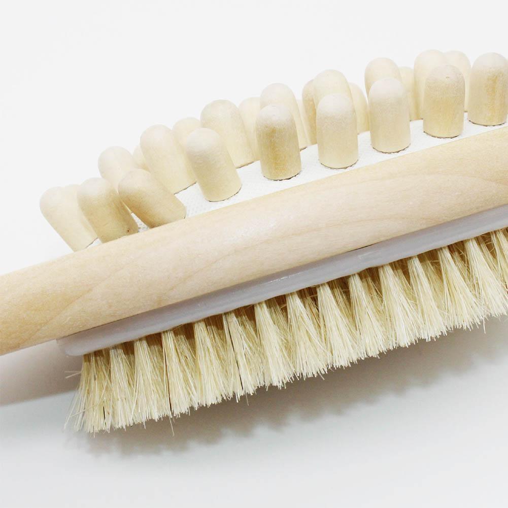 Escovas de Banho Alça Spa 2-em-1 Corpo Escova