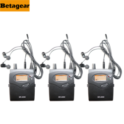 Betagear 3 receiver for SR2050 in ear monitor system wireless microphone profession audio sound system